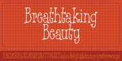 Breathtaking Beauty font download