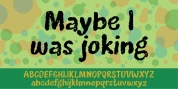 Maybe I Was Joking font download