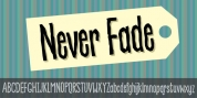 Never Fade font download