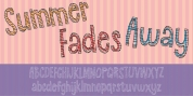 Summer Fades Away font download