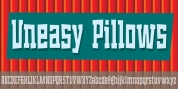 Uneasy Pillows font download