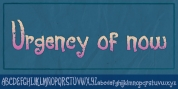 Urgency Of Now font download