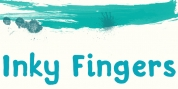 Inky Fingers font download