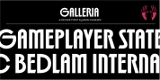 Galleria font download
