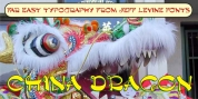 China Dragon JNL font download