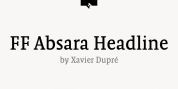 FF Absara Headline font download