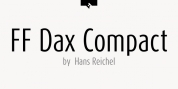 FF Dax Compact font download