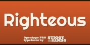 Righteous Pro font download