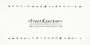 Frank Reaction font download