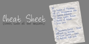 Cheat Sheet font download