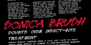 Sonica Brush font download