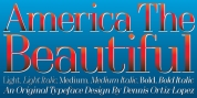OL America The Beautiful font download