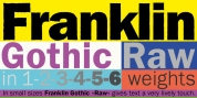 Franklin Gothic Raw font download