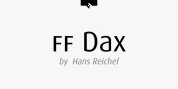 FF Dax Office font download