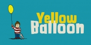 Yellow Balloon font download