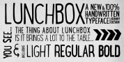 LunchBox font download
