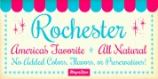 Rochester Pro font download