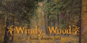Windy Wood font download