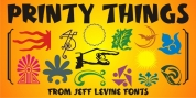 Printy Things JNL font download
