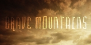 Brave Mountains font download