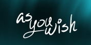 As You Wish font download