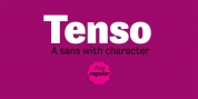 Tenso font download