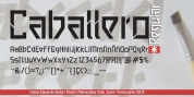 Caballero font download