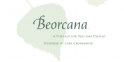 Beorcana Std font download