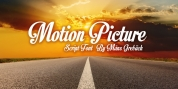Motion Picture font download