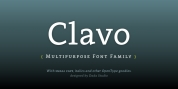 Clavo font download