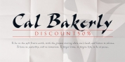Cal Bakerly font download