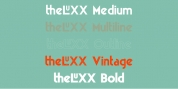 theLUXX font download