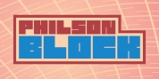 philson block font download