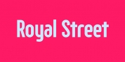 Royal Street font download
