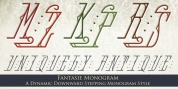 MFC Fantasie Monogram font download