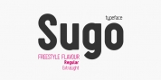Sugo font download