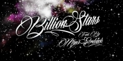 Billion Stars font download
