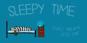 Sleepy Time font download