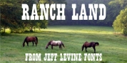 Ranch Land JNL font download