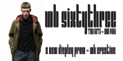MB SIXTYTHREE font download