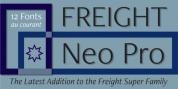 Freight Neo Pro font download