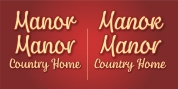 Manor font download