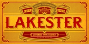 LAKESTER font download