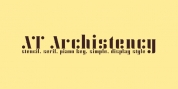 AT Archistency font download