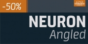 Neuron Angled font download