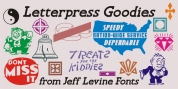 Letterpress Goodies JNL font download