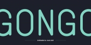 Gongo font download