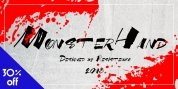 MonsterHand font download