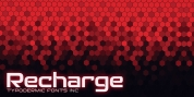 Recharge font download