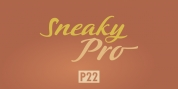 P22 Sneaky Pro font download